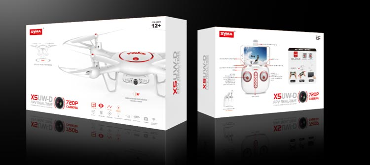 خرید هلی شات دوربین دار syma X5UW-D با ارسال زنده تصویر