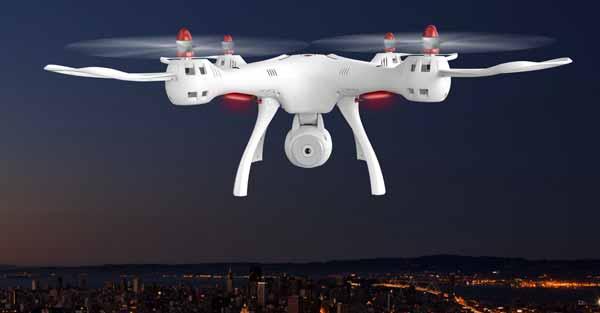 LEDهای پرنور و کم مصرف پهپاد یا کوادکوپتر دوربین دار سایما syma X8SC