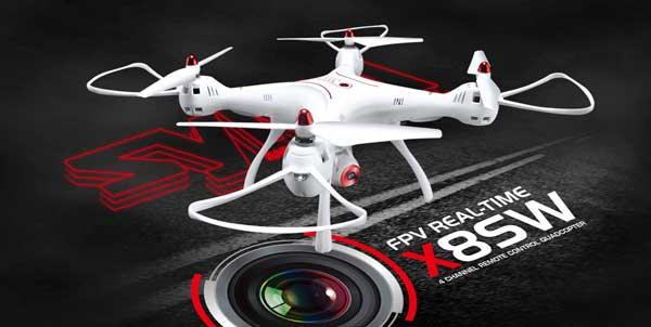 معرفی پهپاد یا کوادکوپتر دوربین دار سایما syma X8SW با ارسال زنده تصویر