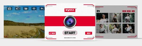 نحوه اتصال گوشی همراه به پهپاد پهپاد یا کوادکوپتر دوربین دار سایما syma X8SW با ارسال زنده تصویر