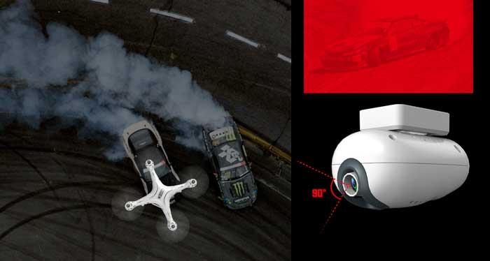 دوربین با کیفیت بالا پهپاد یا کوادکوپتر syma X8 pro دارای GPS