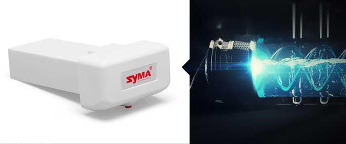 باتری با ظرفيت بالا پهپاد یا کوادکوپتر syma X8 pro دارای GPS
