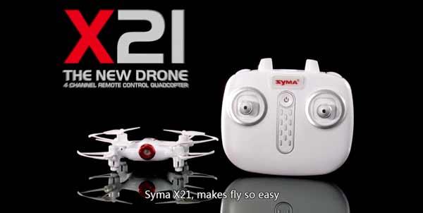 پهپاد یا کوادکوپتر نانو syma X21ساخت شرکت سایما