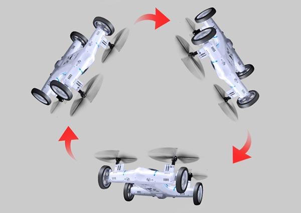 پهپاد یا کوادکوپتر-خودرو syma X9