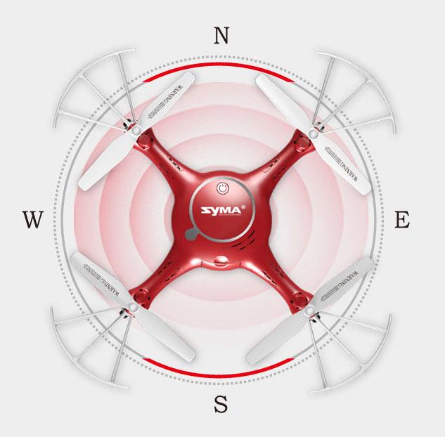 مد هدلس پهپاد یا کوادکوپتر Syma X5UW با ارسال زنده تصویر