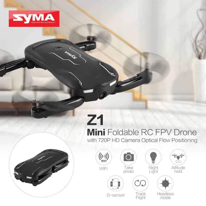 کوادکوپتر دوربین دار syma Z1 با بازوهای تاشو