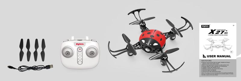 کوادکوپتر بدون دوربین سایما syma X27