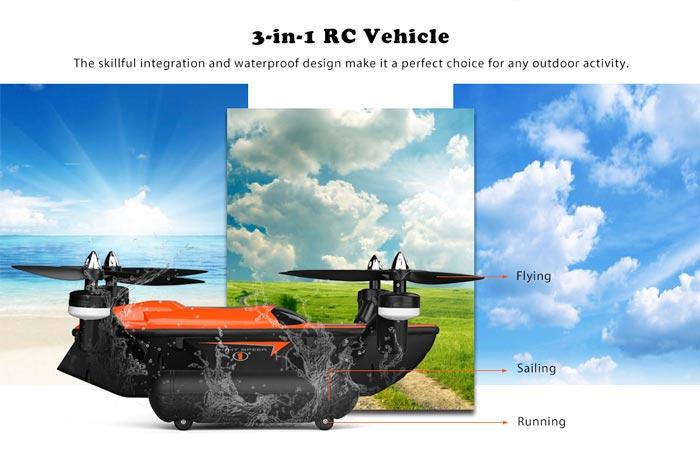 خرید کواد کوپتر/قایق/ماشین کنترلی WLtoys Q353 | خرید پهپاد | خرید پهباد