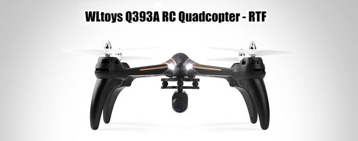 کواد کوپتر دوربین دار wltoys Q393-A با ارسال زنده تصویر