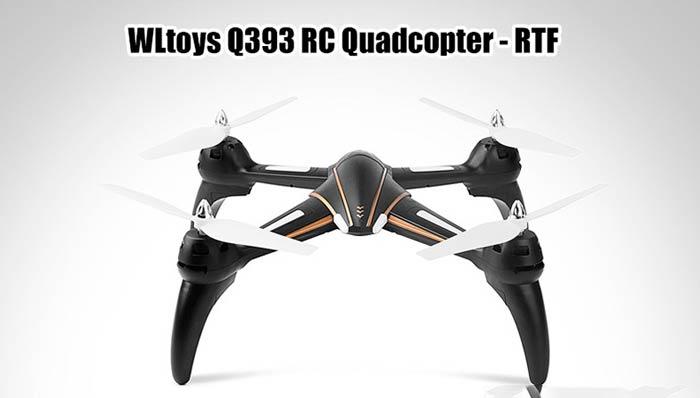 کواد کوپتر wltoys Q393 (نسخه بدون دوربین)