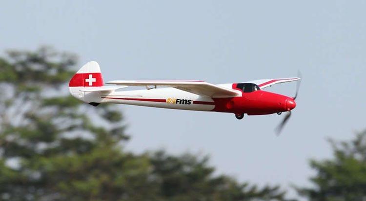 هواپیمای کنترلی Moa 1500mm ساخت شرکت FMS