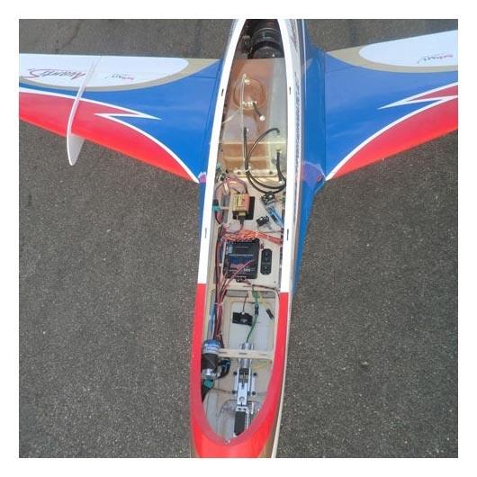خرید هواپیمای جت کنترلی Mini avanti S ساخت شرکت Sebart
