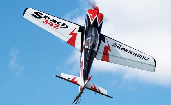 کیت بدنه هواپیمای Sbach342  ساخت شرکت pilot