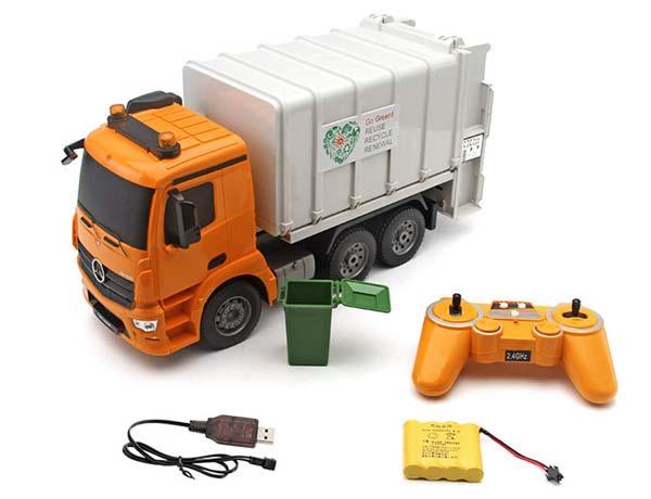 کامیون کنترلی حمل زباله doublee e560 003