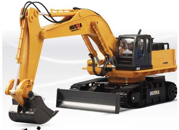 بیل مکانیکی راه سازی کنترلی Huina 1510