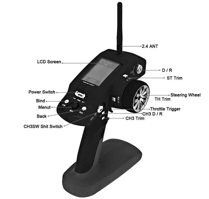 ماشین کنترلی Wltoys 10428-a